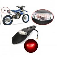 Motosiklet, Arka Led Kırmızı ve Fren Lambalı, Çamurluk